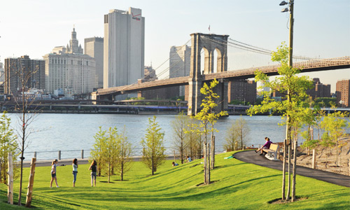 Dealing with History in Brooklyn Bridge Park